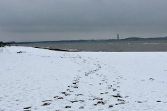 Strand-Schnee